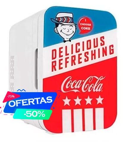 Mini Refrigerador Eléctrico Portátil Coca Cola