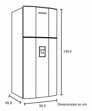 medidas de refrigeradores de dos puertasmedidas de refrigeradores de dos puertasmedidas de refrigeradores de dos puertas