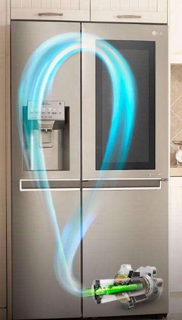 nuevo refrigerador lg