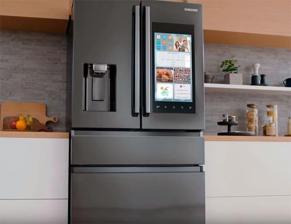 refrigerador grande y moderno