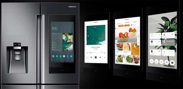 refrigerador inteligente pantalla
