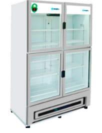 Refrigerador Metalfrio 4 puertas