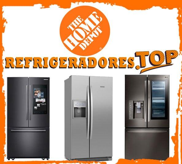 home depot refrigeradores