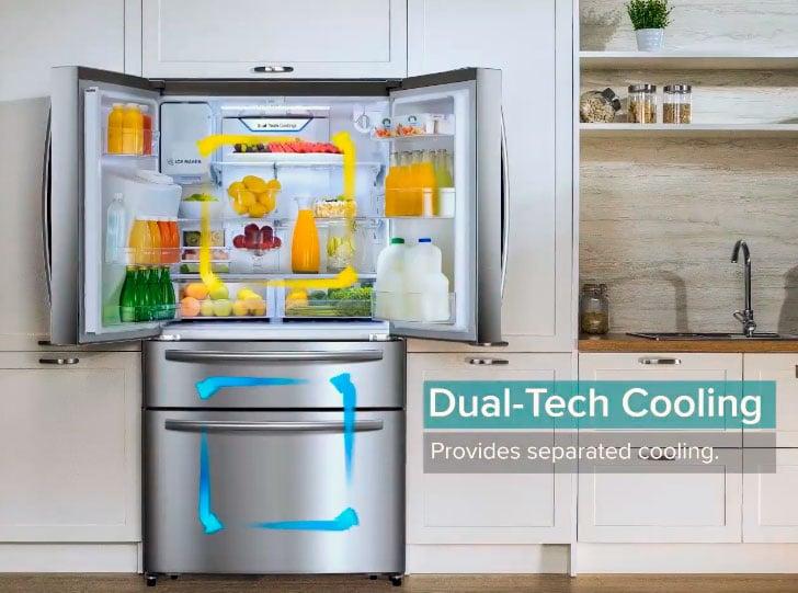 nuevo refrigerador Hisense