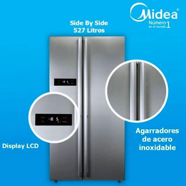 refrigerador midea no frost