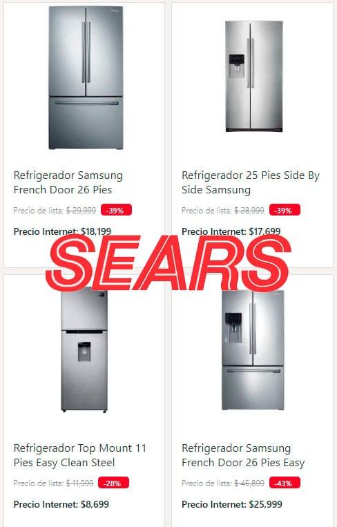 sears refrigeradores samsung