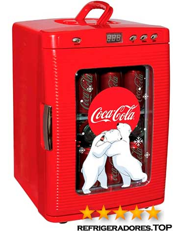 Enfriador de bebidas Coca Cola de 12V