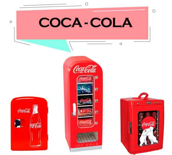 mejor refrigerador coca cola