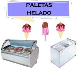 Refrigerador para paletas y helado