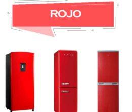 Refrigerador rojo