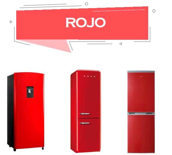 mejor refrigerador rojo