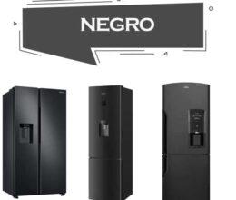 Refrigerador Negro