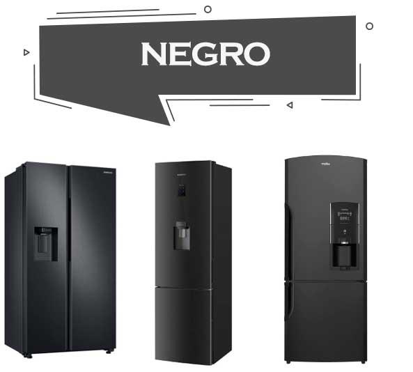 mejores refrigeradores de color negro