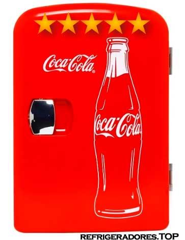 mini refrigerador coca cola