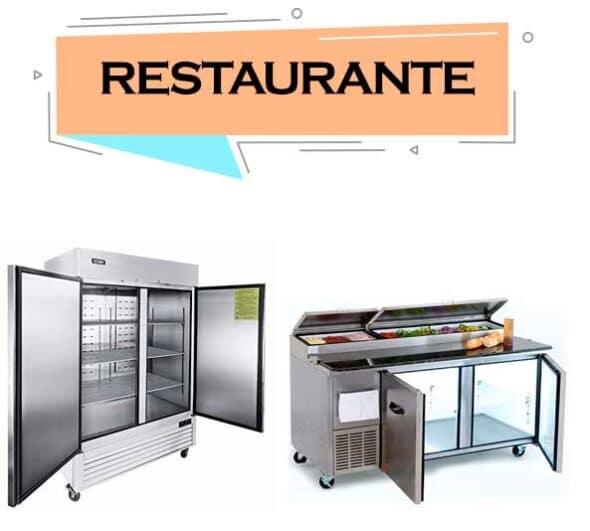 Refrigerador para restaurante