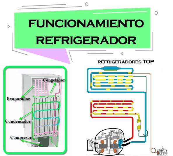 funcionamiento de un refrigerador