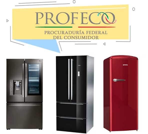 refrigeradores profeco
