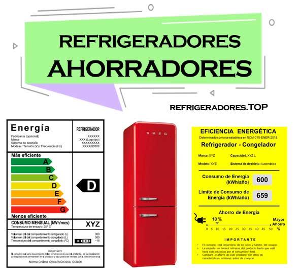 refrigeradores mas ahorradores