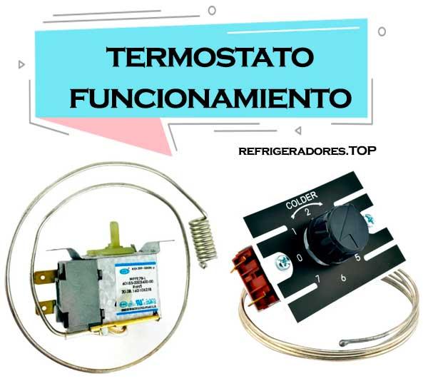 termostato refrigerador funcionamiento