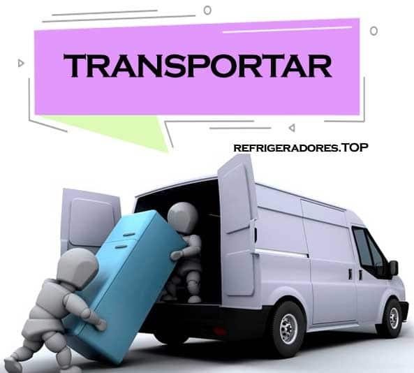 transportar un refrigerador